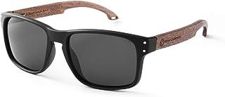SKADINO Sunglasses For Men With Polarized Lens Handmade Bamboo Sunglasses For Men&Women