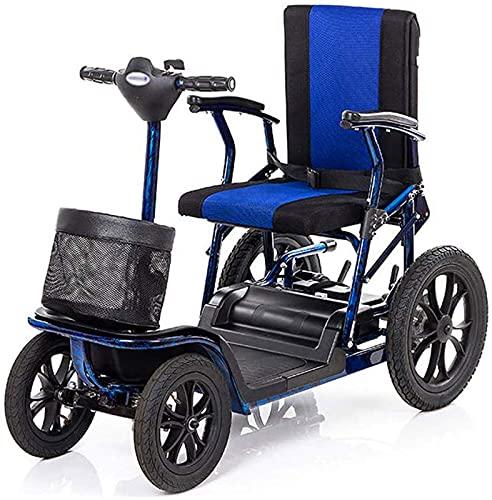 Silla de ruedas Silla de ruedas eléctrica inteligente Scooter eléctrico de movilidad...