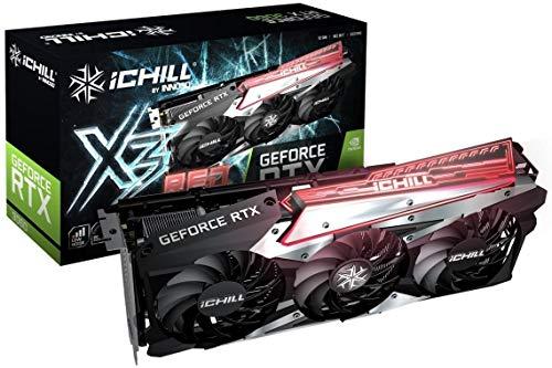 Inno3D PCIe Grafikkarte 12GB RTX 3060 OC iChill X3 RED 3X DisplayPort HDMI