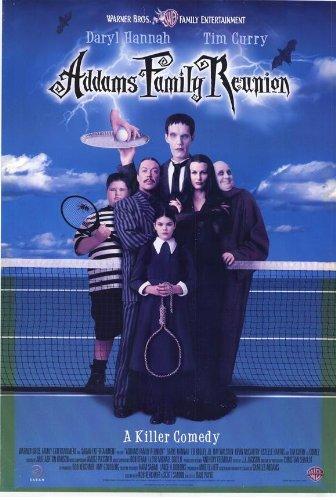 (27x40) Addams Family Reunion Movie Daryl Hanna Tim Curry Original Poster Print