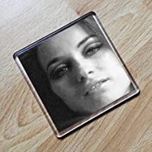 VALERIE LEON - Original Art Coaster #js004