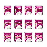 森永乳業 大人のための粉ミルク ミルク生活 300g × 12缶