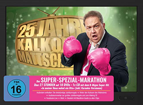 25-Jahre: Der Super-Spezial-Marathon (10 DVDs + Audio-CD)