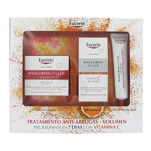 Eucerin Hyaluron-Filler + Volume-Lift Spf15 Dry Skin 50ml Set 3 Pieces370535