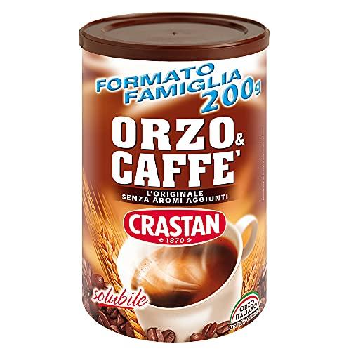 Crastan Orzo & Caffè Solubile, Confezione da 6 x 200 g