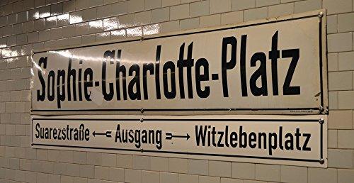 Home Comforts LAMINATED POSTER Tegels Teken Bestemming Ubahn Urban Berlijn Duitsland Poster Print 61 x 91.5