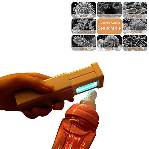 HaavPoois Esterilizador Ultravioleta Tel/éfono Inteligente Esterilizador De Objetos Peque/ños Caja De Esterilizaci/ón Port/átil Recargable USB con Tanque De Aroma