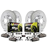 Power Stop K8170-26, Z26 Front and Rear Brake Kit-Brake Rotors and Carbon-Fiber Ceramic Brake Pads