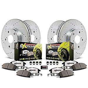 Power Stop K2220-26 1-Click Street Warrior Z26 Brake Kit