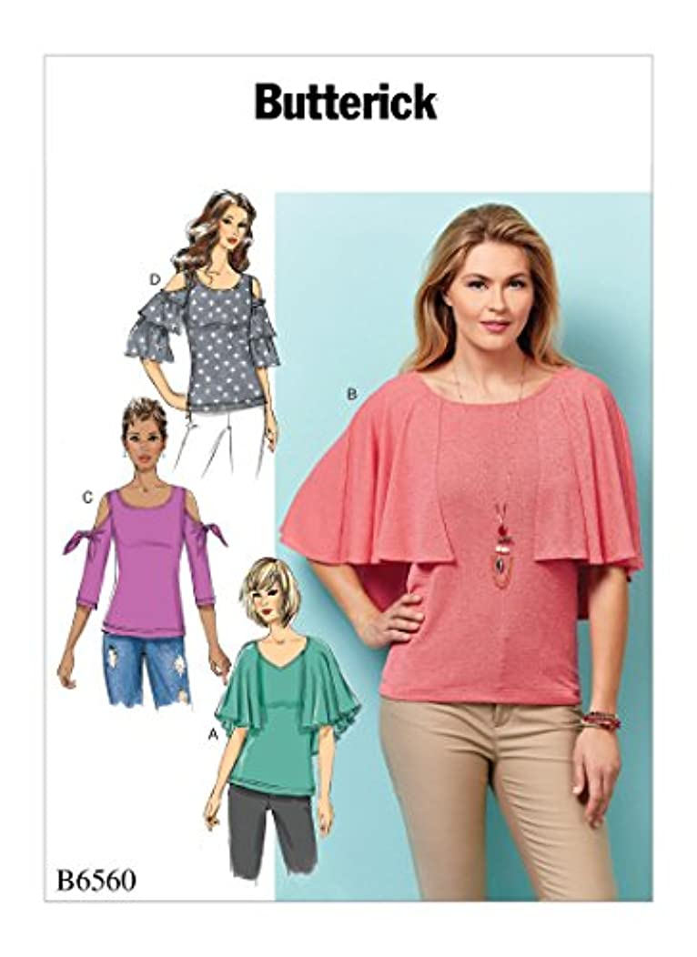 BUTTERICK B6560/BP324 Misses' Top Sz 14-22 Sewing Pattern