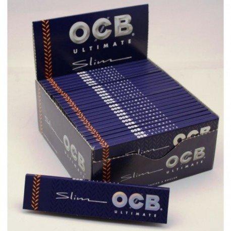 OCB Ultimate Slim Zigarettenpapier lang King Size 10 Heftchen