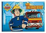 Undercover FSUT0963 - Feuerwehrmann Sam Freundebuch, DIN A5, 126 vorgedruckte Seiten mit vielen Eigenschaften zum Ausfüllen