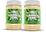 PB&Me - 2-Pack (1LB) - Natural: 100 Percent Peanuts - Powdered Peanut Butter