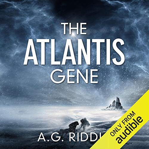 The Atlantis Gene audiobook cover art