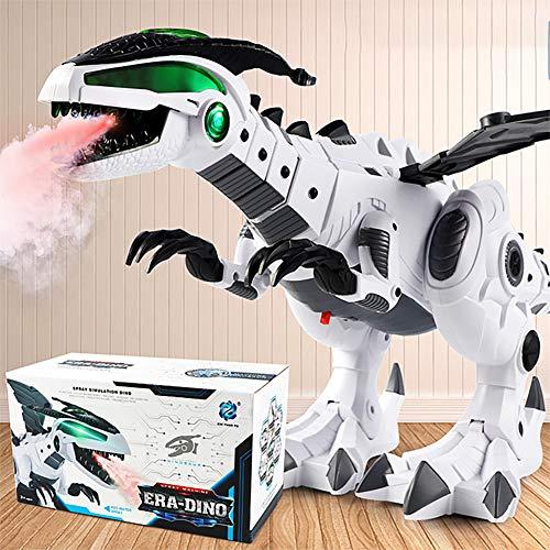 BeesClover Dinosaurier-Spielzeug-Spray, elektrischer Dinosaurier, mechanischer Pterosaurier, Dinosaurier-Spielzeug, Kinder-Geschenk weiß