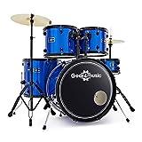 BDK-1 Anfanger-Schlagzeug in Standardgrose von Gear4music blau