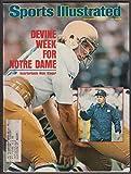 Sports Illustrated Magazine - Devine Week for Notre Dame Rick Slager [September 29, 1975]