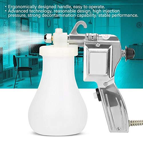 HEEPDD Fleck Reinigung Pistole, 40W Elektrische Fleckentfernung Pistole Einstellbare Fleckentfernung Pistole für Kleidung Staub Küche Auto Glastür