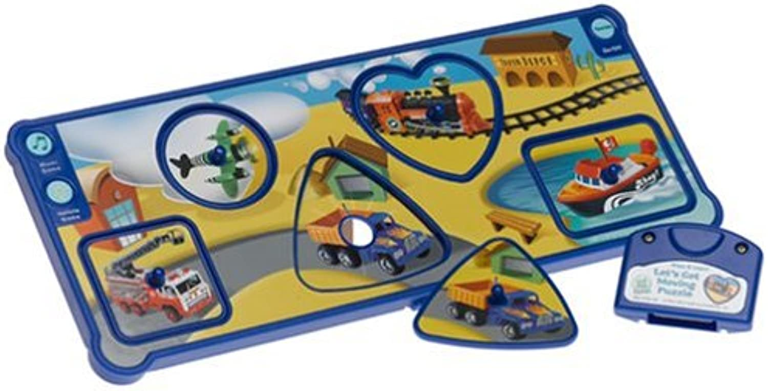 LittleTouch LeapPad  Press and Learn  Let's Get Moving Puzzle