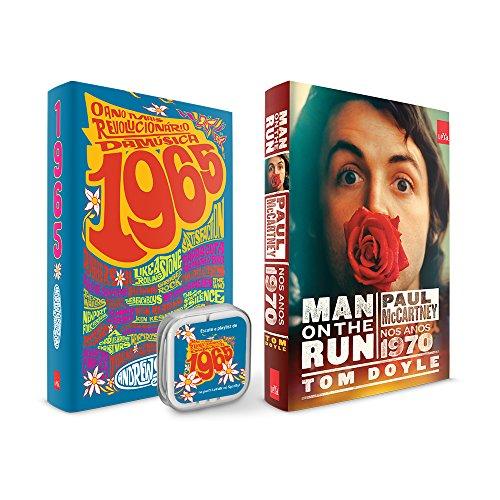 O Ano Mais Revolucionário da Música + Man on the Run com Fone de Ouvido com Playlist no Spotfy - Caixa