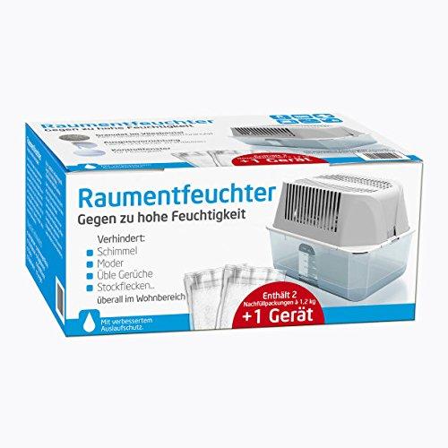 Deumidificatore Set–incluso 2x1,2kg conf.–Impedisce muffa odori