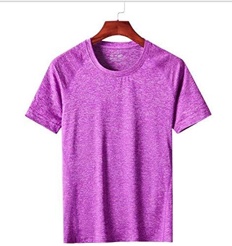 QKDJ Camiseta, Camisa de Manga Corta, Ropa de Yoga