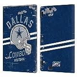 Head Case Designs Licenciado Oficialmente NFL Casco Distressed Look 100th Dallas Cowboys Logo Art Ca...
