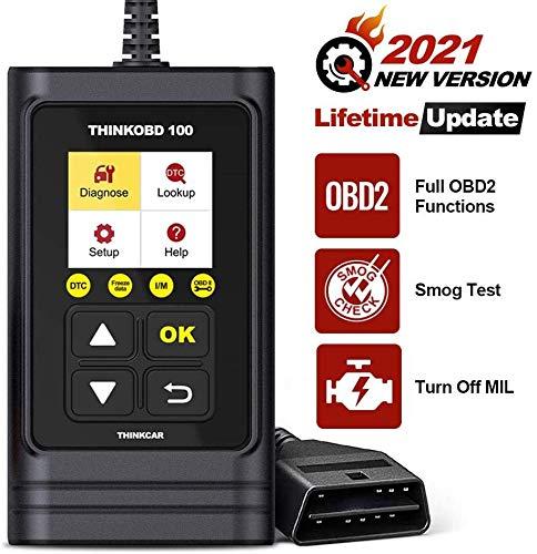thinkcar THINKOBD 100 OBDII Scanner OBD2/ EOBD Car Code Reader with Full...
