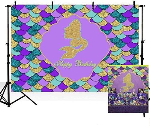 The Best Mermaid Purple And Teal Background Pictures