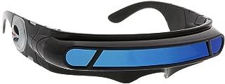 WebDeals(TM) - Futuristic Cyclops Wrap Around Sunglasses