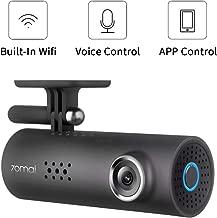 Dash Cam,1080P 70mai 1S Car Video, 130° Wide Angle On-Dash Cameras, Built-in WiFi Dash Camera, Emergency Recording Car Dash Cam, APP Control Dashboard Camera, Dash Camera for Cars with Night Visio