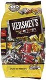 HERSHEY'S Miniatures Chocolate Candy (HERSHEY'S, KRACKEL, and MR. GOODBAR), Snack Size Assortment, 56 Ounce Bulk Bag