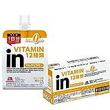 inゼリー マルチビタミン カロリーゼロ オレンジ味 (180g×6個) 栄養補助ゼリー カロリー0kcal 1日分のビタミン12種類配合 栄養機能食品(ビオチン)