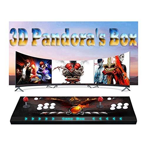 Pandora Box 9S - Juegos Clásicos Consola De Videojuegos, (3160 En 1) Consola Arcade Retro, 4 Joystick Partes De La Fuente De Alimentación HDMI Y VGA Y Salida USB, para PS3 / PS4 / TV/PC