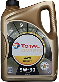 Total 181714 Quartz Ineo Long Life 5W30 Lubricante, 5L