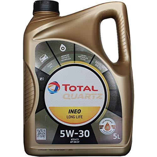 Total 181712 Quartz Ineo Long Life 5W-30 Huile Moteurs, 5 litres