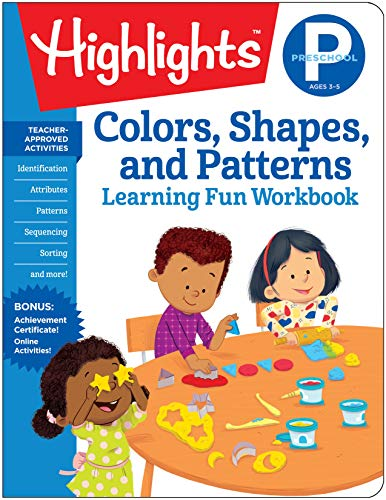 Preschool Colors, Shapes, and Patterns (Highlights Learning Fun Workbooks)