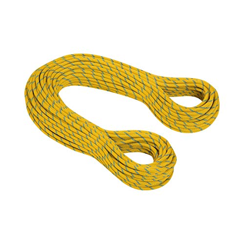 Mammut 8.0 Phoenix Dry Cuerda Doble Gemela, Unisex Adulto, Multicolor (Standard.Yellow), 50...