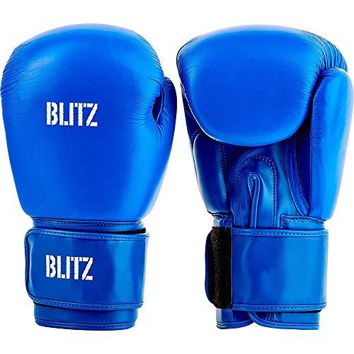 Blitz Pro Boxhandschuhe, blau, 454 g