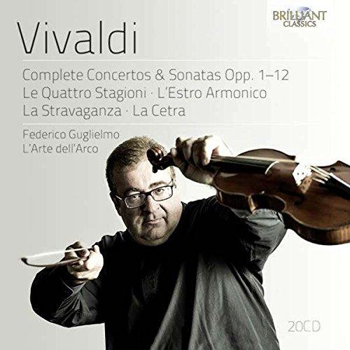 VIVALDI: Complete Concertos & Sonatas Opp.1-12: Le Quattro Stagioni, L'Estro Armonico, La Stravaganza, La Cetra