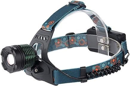 DaQingYuntur Headlights, Strong Headlights, Rechargeable Headlights, Three-Speed Mode, 90 Degree Freely Adjustable lamp Head Design, Frog Eye Optical Convex Lens, Clearer Spotlight