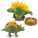 Nachosaurus and Tricerataco - Chips and Dip Set and Taco Stand