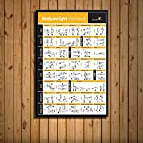 zlhcich Body Workout Training Chart Ejercicio Gym Art Painting 6 50 * 70