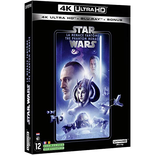 STAR WARS Episode I - LA MENACE FANTOME (2019) - Blu-ray 4K [4K Ultra HD + Blu-ray + Blu-ray Bonus]