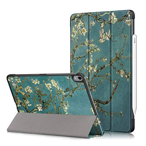 New iPad 10.8 2020/iPad Air 4 Tablet Cover,Heavy Duty Cover PU Leather Case with Protection with Auto Wake Up/Sleep Lightweight Shell for New iPad 10.8'/iPad Air 4th Generation Tablet PC (Apricot)
