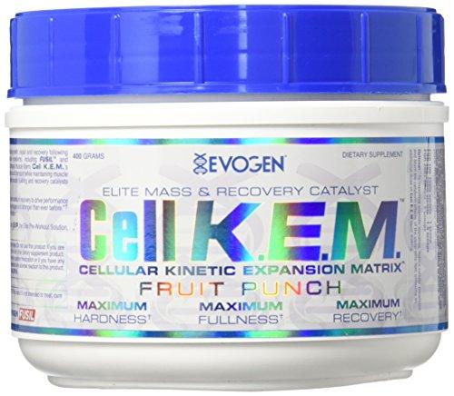 Evogen Cell K.E.M. I 40 Portionen I Amino I NO I Stickstoffoxid I Masse I Recovery (Fruit Punch)