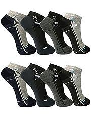 BestSale247 12 paar herensneakers, voor sport, vrije tijd, katoen, maat 39-42; maat 43-46