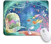 マウスパッド パジャマシェブロンライン水玉とハートに身を包んだ漫画ダックスフント 高級感 おしゃれ 防水 端ステッチ 耐久性が良い 滑らかな表面 滑り止めゴム底 24cmx20cm