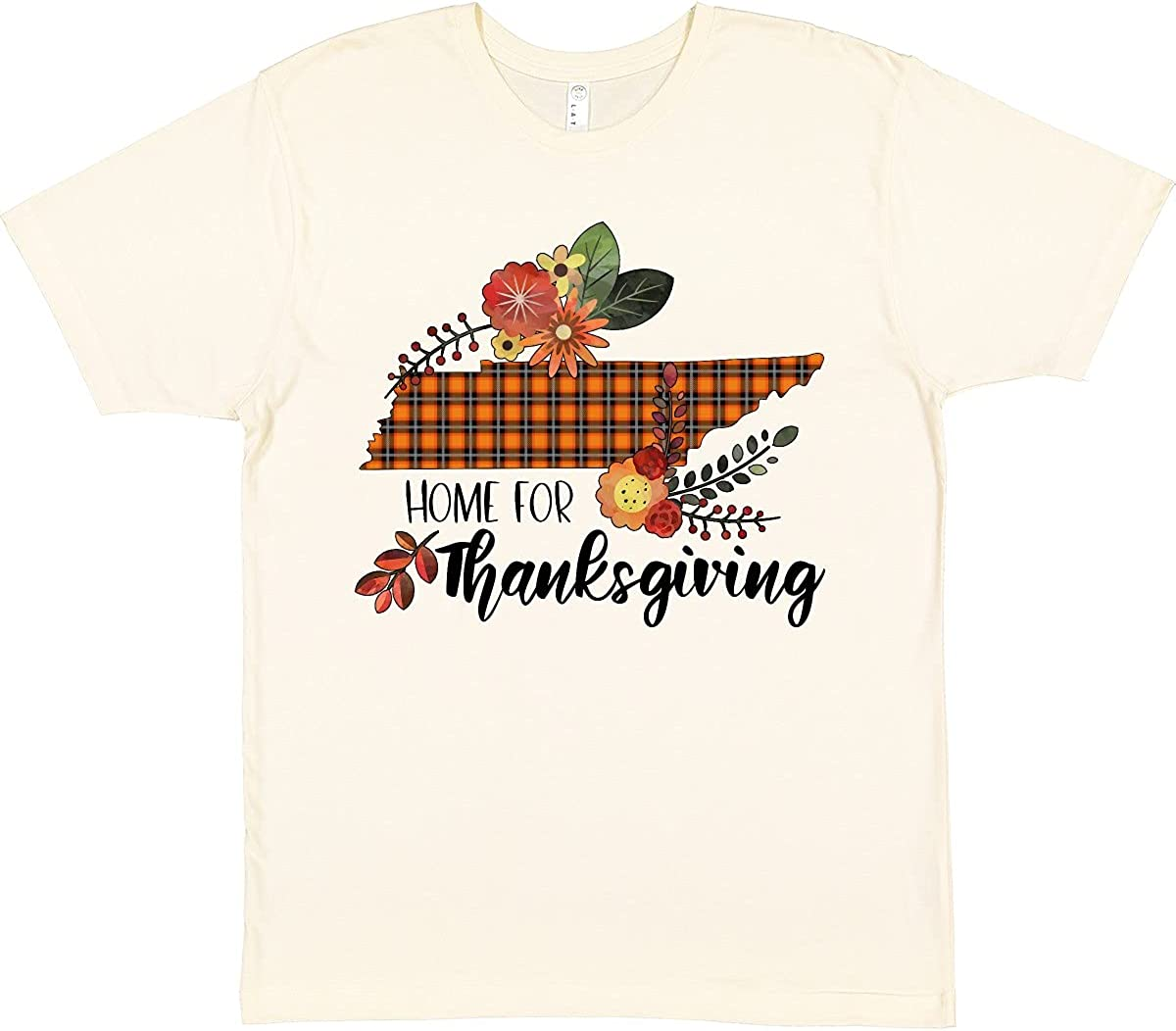 inktastic Tennessee Home for Thanksgiving T-Shirt