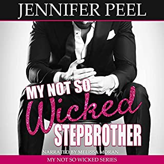 My Not So Wicked Stepbrother     My Not So Wicked Series, Book 1              By:                                                                                                                                 Jennifer Peel                               Narrated by:                                                                                                                                 Melissa Moran                      Length: 6 hrs and 51 mins     17 ratings     Overall 4.8